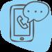 FFF-icoon-telefoon-blauw